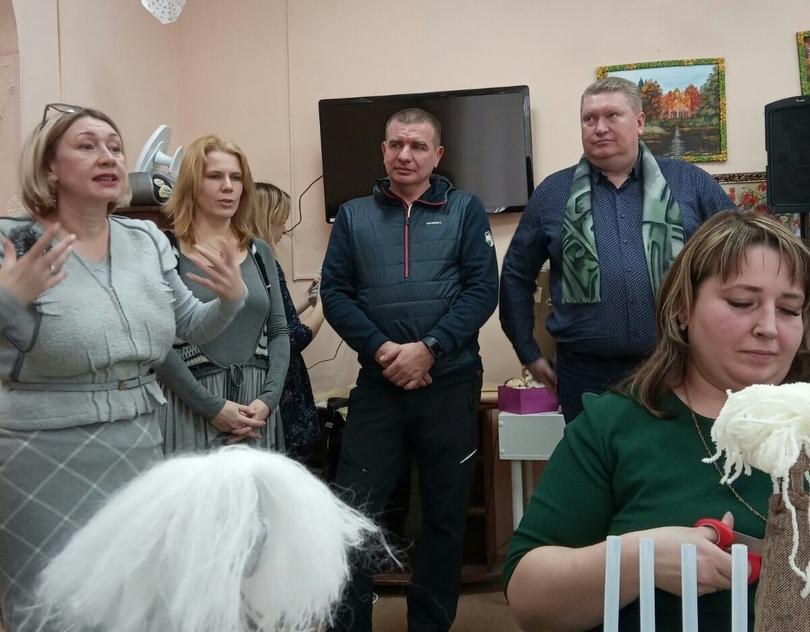 Участницы проекта «Смогу сама» встретились с главой Кольчугинского района