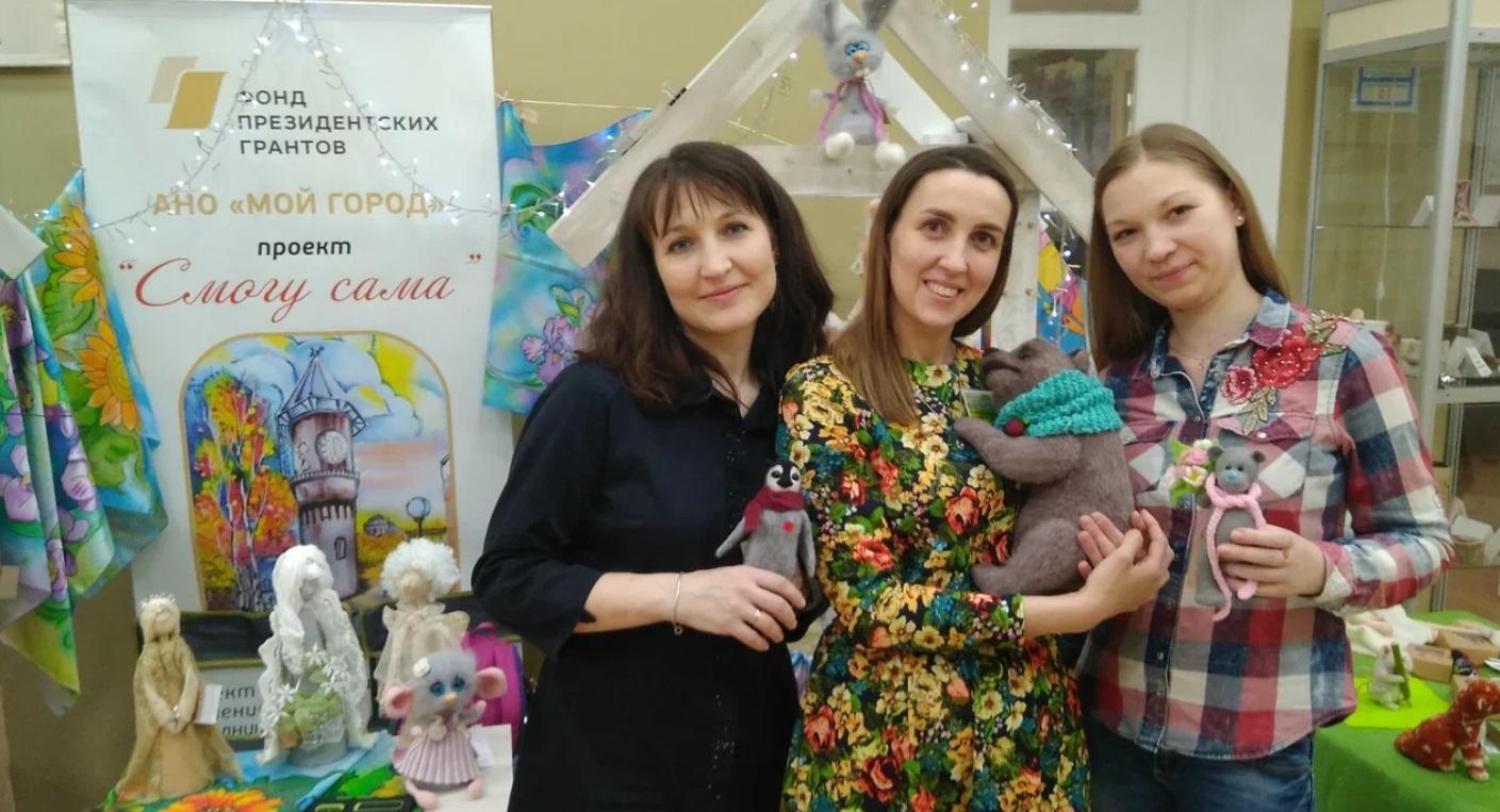 Проект «Смогу сама» — на фестивале «Реки-Руки» во Владимире